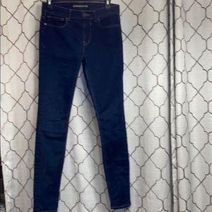 Express Legging MIa Mid Rise jeans 6r blue